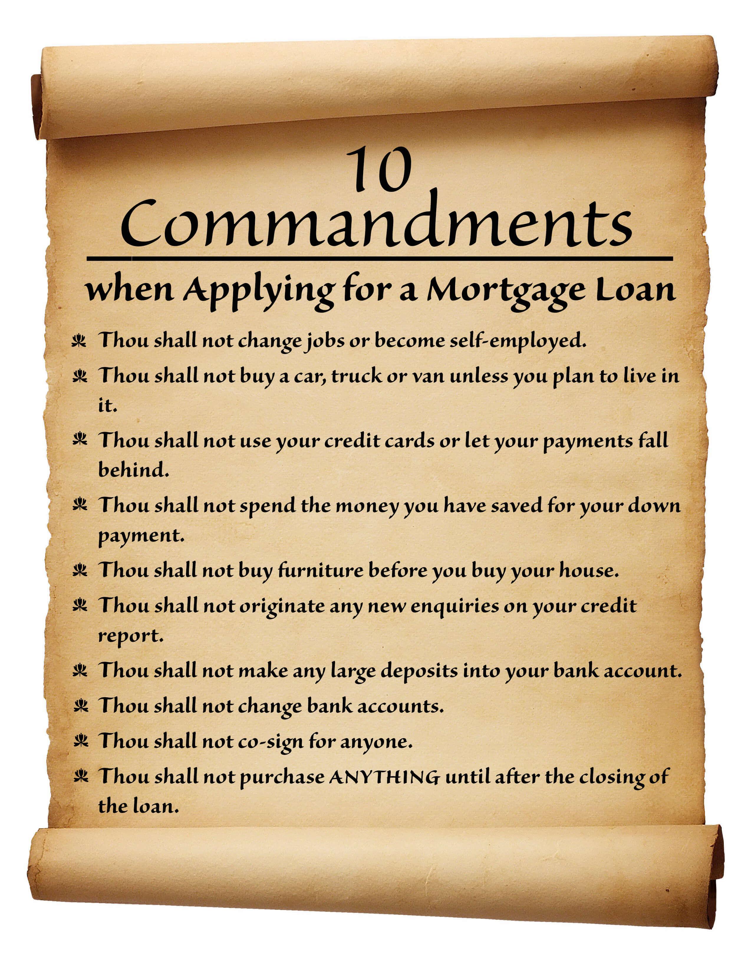 the ten commandments list pdf